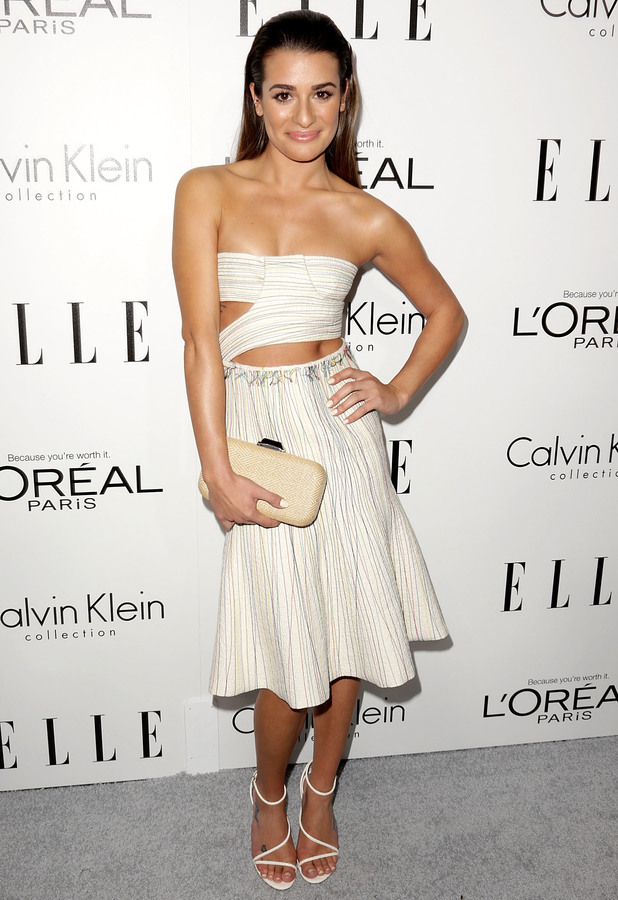 Lea Michele - ELLE 20th annual Women in Hollywood celebration at the Four Seasons Hotel Beverly Hills, 21 October 2013