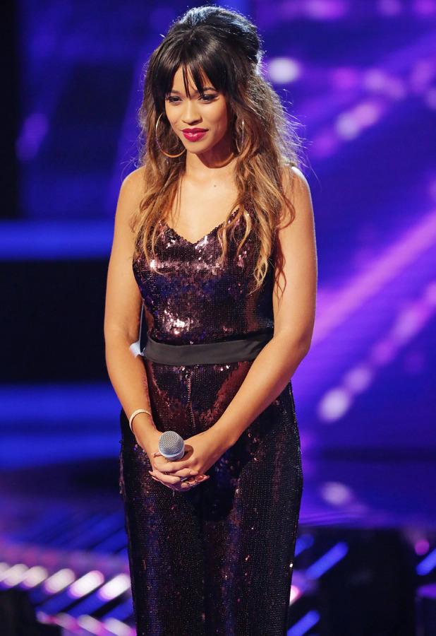 Tamera Foster - 'The X Factor' TV show, London, Britain - 19 Oct 2013