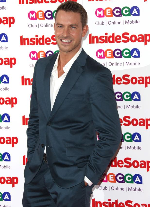 Ashley Taylor Dawson at Inside Soap Awards 2013