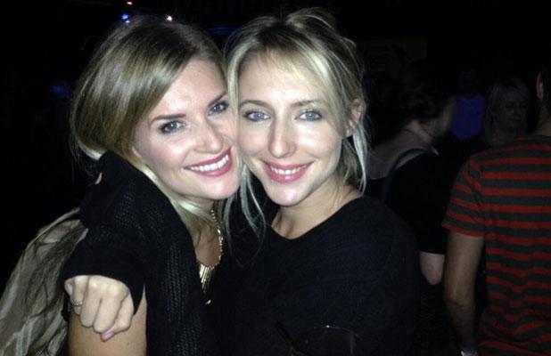 Sarah Jayne Dunn and Ali Bastian enjoy girls' night out, October 2013