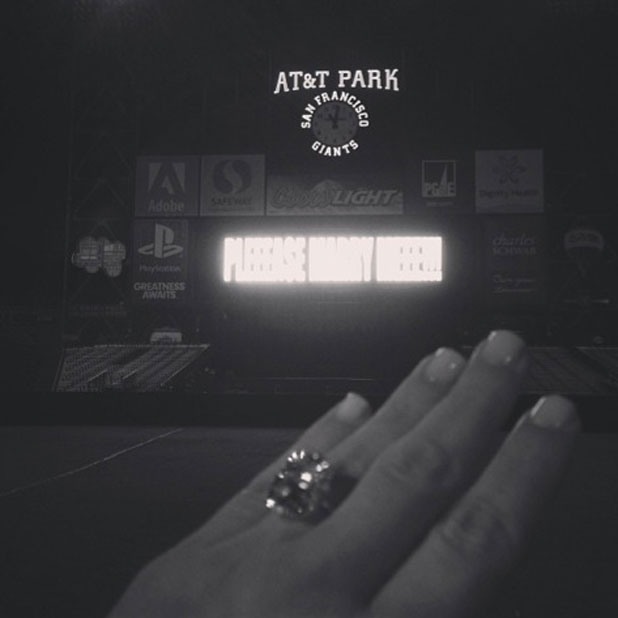 Kim Kardashian breaks silence on engagement, 22 October 2013