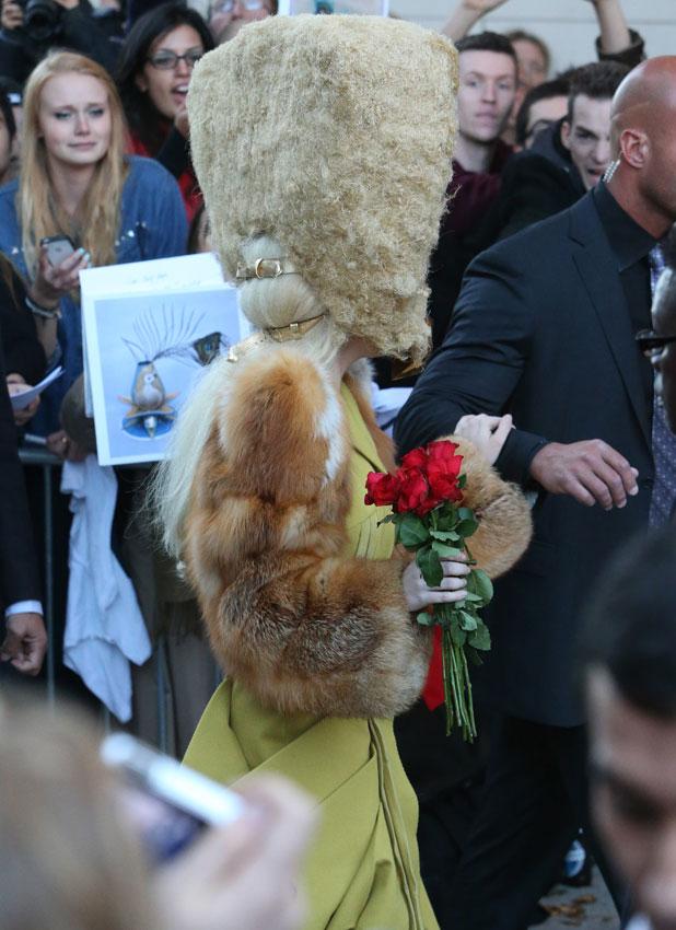 Lady Gaga in Berlin, 24 October 2013