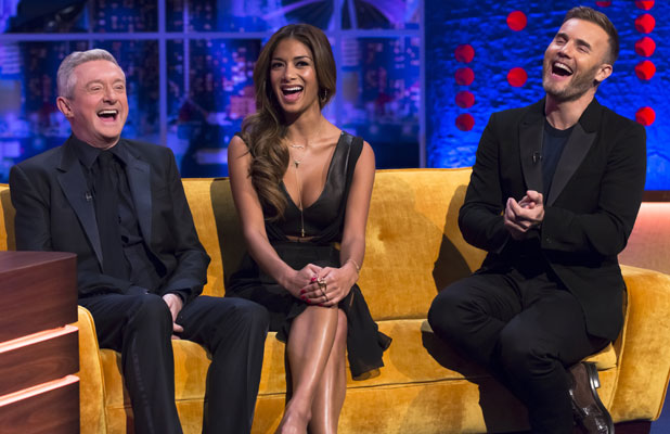 'The Jonathan Ross Show' TV Programme, London, Britain. - 26 Oct 2013 Jonathan Ross with Louis Walsh, Nicole Scherzinger and Gary Barlow