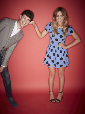 The Xtra Factor, Caroline Flack and Matt Richardson