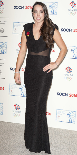 Beth Tweddle at the British Olympic Ball in London, 30 October 2013