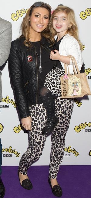 Luisa Zissman and her daughter Dixie attend CBeebies screening - 27 October 2013