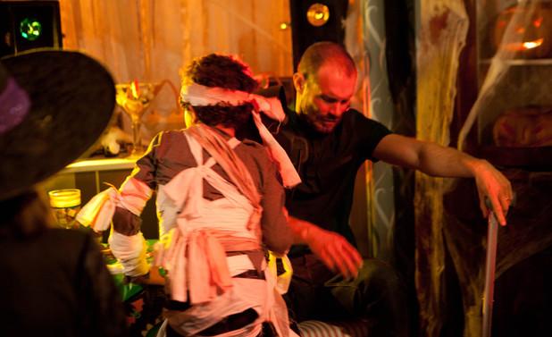 Corrie, Nick lashes out at Simon, Fri 1 Nov