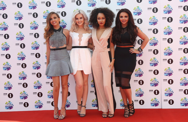 Little Mix attend the BBC Radio 1's Teen Awards held at Wembley Arena, 3 November 2013