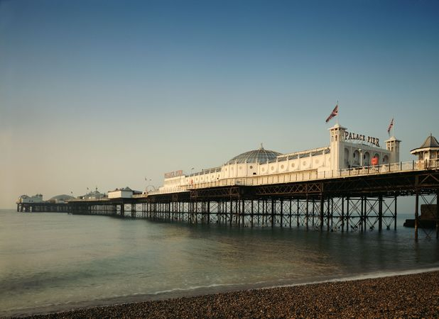 Brighton is famous for it's pier