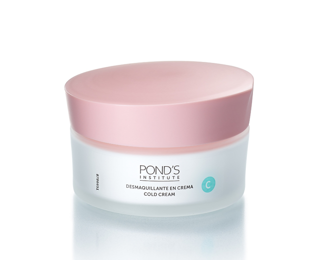Pond's Cold Cream Cleanser - cleanses the skin deep down without drying it and leaves your skin perfectly clean.