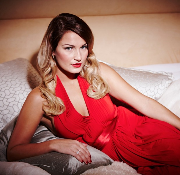 Sam Faiers, Femme Fatale photoshoot for Reveal, 30 October 2013