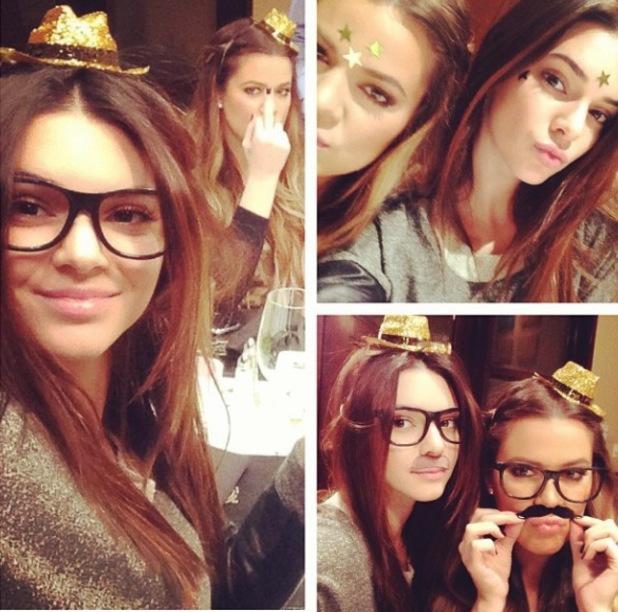 Khloe Kardashian, Kris and Kendall Jenner attend birthday dinner for Bruce Jenner - 27.10.2013