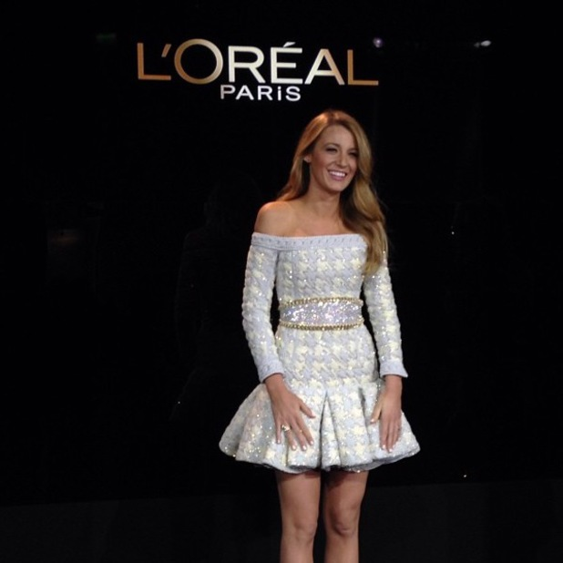 Blake Lively announced as the new spokesperson for L'Oréal Paris - October 2013