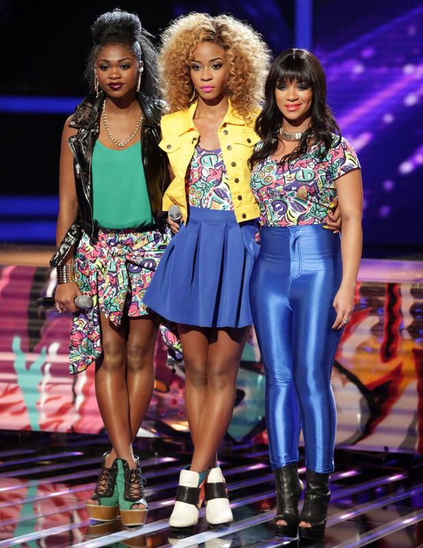 Miss Dynamix on The X Factor - 26 October 2013