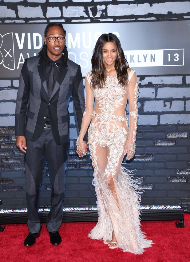 The 2013 MTV Video Music Awards at the Barclays Center. Ciara and Future - 26.8.2013