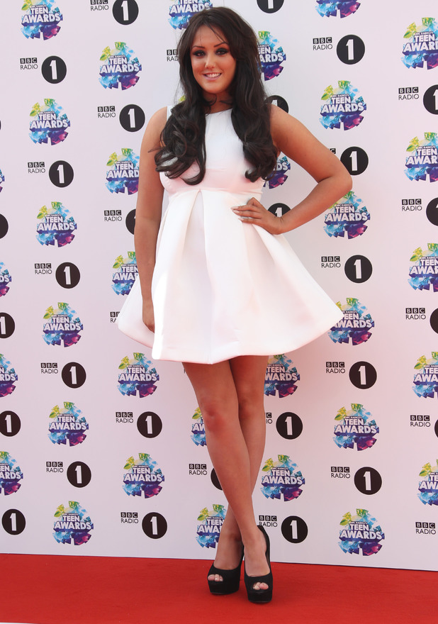 Charlotte Crosby attends the BBC Radio 1's Teen Awards held at Wembley Arena, 3 November 2013