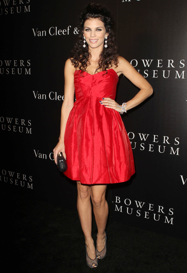 AnnaLynne McCord - The Van Cleef & Arpels Bowers Museum Exhibit Gala Held at The Bowers Museum, 27 October 2013