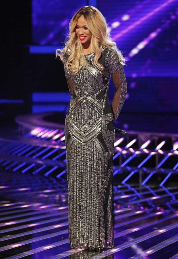Tamera Foster on the X Factor, 26 October 2013