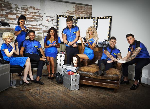 Cast of Beauty School Cop Outs