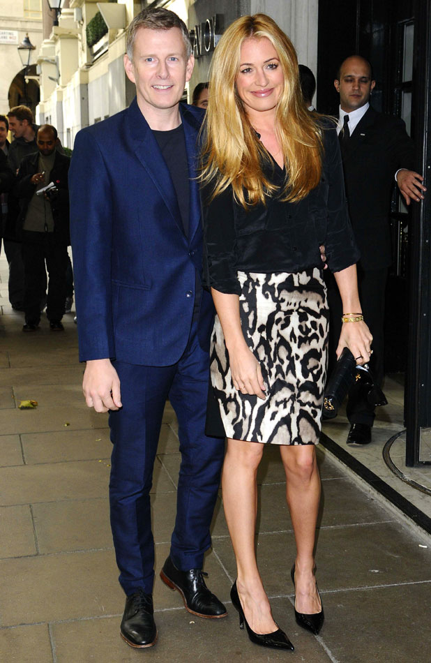 BBC Children in Need Gala Lunch, London, Britain - 27 Oct 2013 Patrick Kielty and Cat Deeley