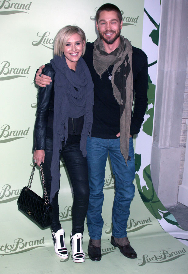 Chad Michael Murray, Nicky Whelan: Lucky Brand flagship store opening benefiting The Art of Elysium in Beverly Hills - Arrivals, 29 October 2013