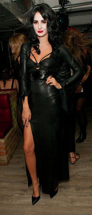 Professor Green and Millie Mackintosh host a party at INK LDN on Halloween, 31 October 2013