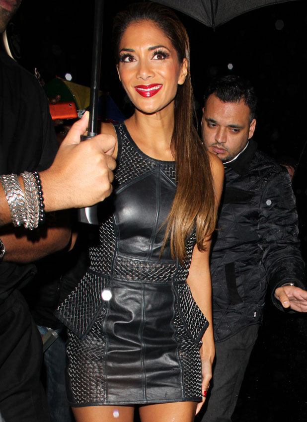 Nicole Scherzinger at Nobu, London, Britain - 27 Oct 2013