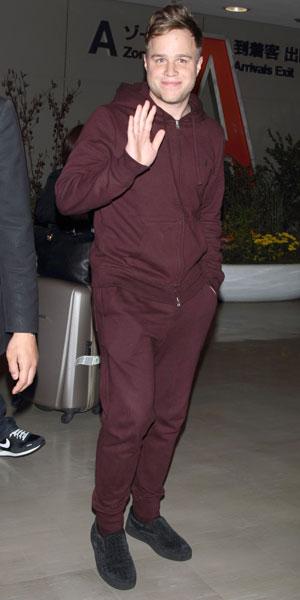 Olly Murs arrives at Narita International Airport, Chiba prefecture, Japan - 31 Oct 2013
