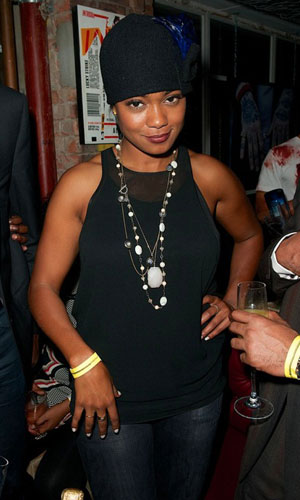 Tatyana Ali at INK LDN on Halloween, 31 October 2013
