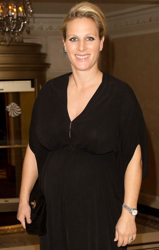 Pregnant Zara Tindall Is Beautiful In Black At Olympic