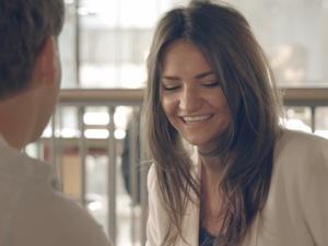 Made In Chelsea episode 4 (4 November 2013) Tiffany Reason on a date with Stevie Johnson