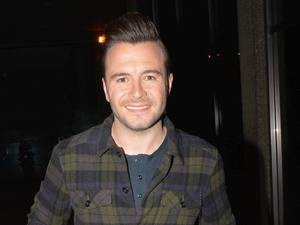 Shane Filan and guests arrive at The Late Late Show, RTE. 11/01/2013 Dublin, Ireland