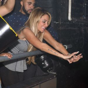 Tulisa shows her support to Little Mix by attending their gig at G-A-Y, 9 November 2013