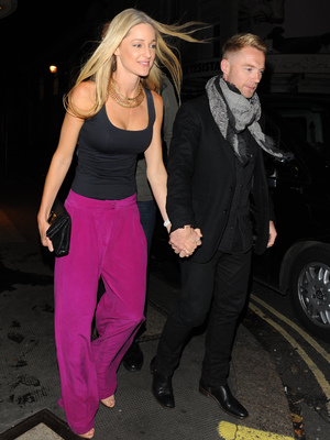 Ronan Keating and Storm Uechtritz at The Ivy, 5.11.13