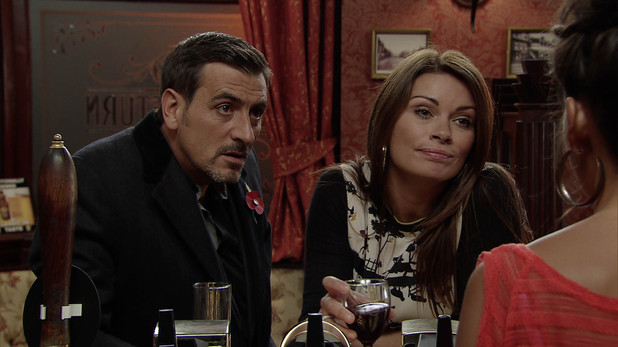 Corrie, Peter and Carla ask Tina to look after Simon, Mon 11 Nov