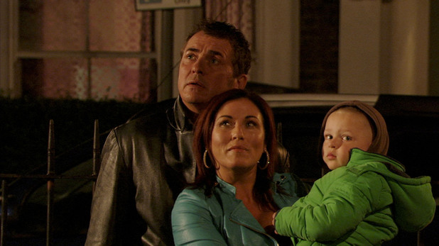 EastEnders, Kat and Alfie let off a rocket for Michael, Thu 7 Nov