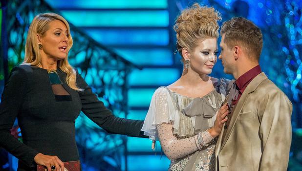 Rachel Riley and Pasha Kovalev leave Strictly Come Dancing. November 3, 2013.