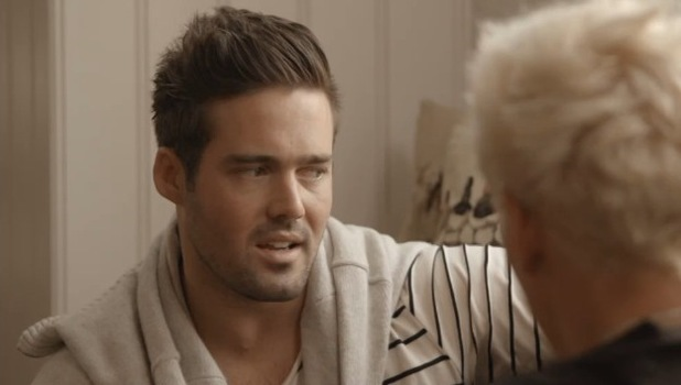 Made In Chelsea (Monday 28th September) Jamie Laing tells best friend Spencer Matthews that he slept with Lucy Watson.