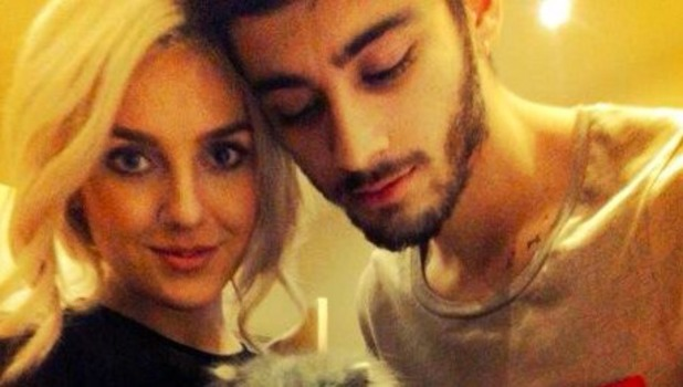 Perrie Edwards and Zayn Malik share picture of their new kitten on Twitter, November 8 2013