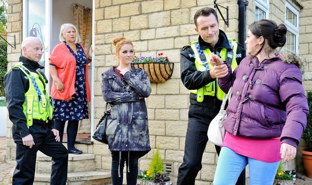 Emmerdale, Amy and Kerry arrested, Fri 8 Nov