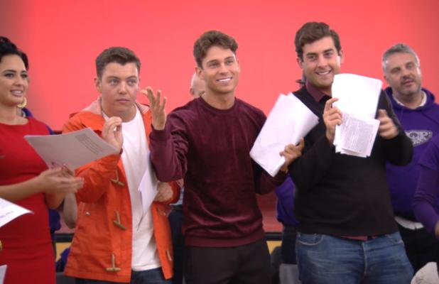 Joey Essex, James 'Diags' Bennewith and James 'Arg' Argent join a pop choir on The Only Way Is Essex - TOWIE (Episode: 10 November 2013)