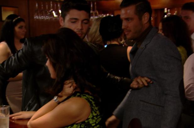 Things kick off between Tom Pearce and Elliott Wright on The Only Way Is Essex - TOWIE (Episode: 10 November 2013)