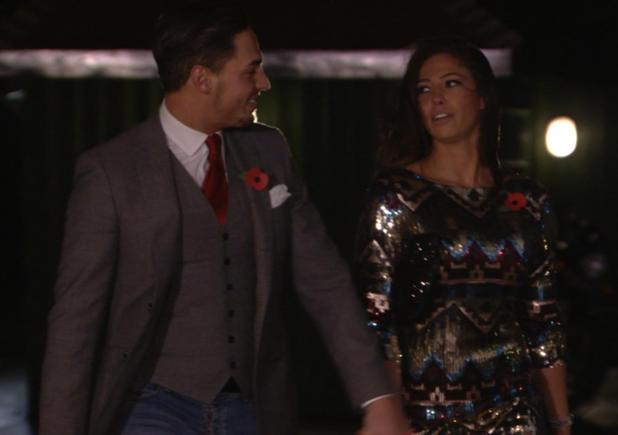 Mario Falcone and girlfriend Pascal Craymer on The Only Way Is Essex - TOWIE (Episode: 10 November 2013)