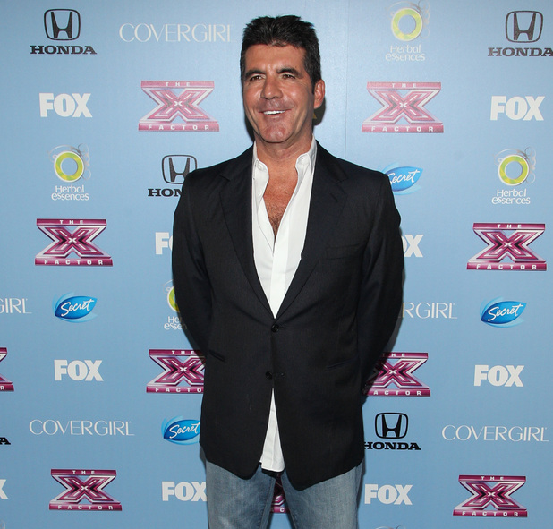 "FOX's ""The X Factor"" Season 3 Finalists Party - Simon Cowell - 4.11.2013"