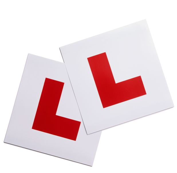 Learner Driver Plates, L Plates 2008