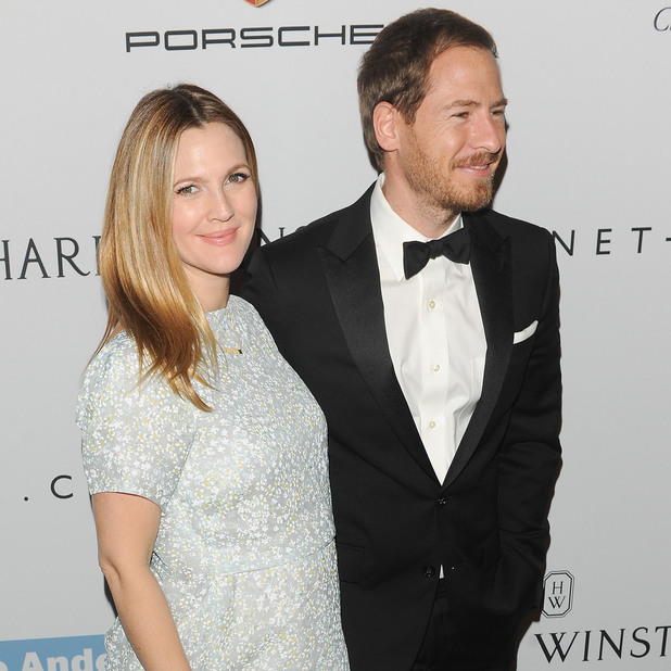 Pregnant Drew Barrymore attends The 2nd Annual Baby2Baby Gala with husband Will Kopelman, 9 November 2013