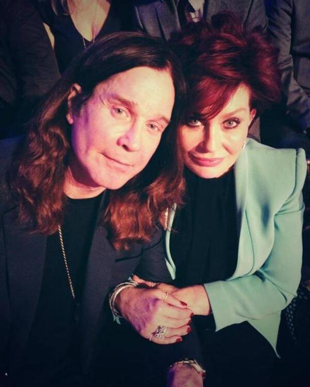4.11.2013 - Dancing With The Stars audience Sharon Osbourne, Ozzy Osbourne