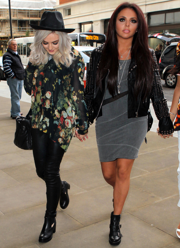 Jesy Nelson And Perrie Edwards Little Mix s Perrie Edwards