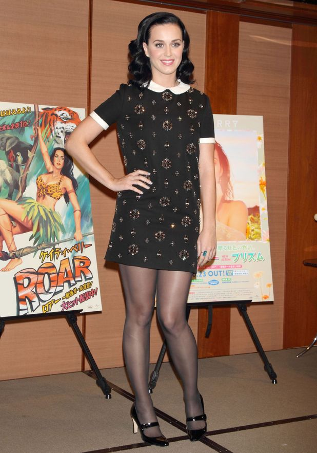 Katy Perry 'Prism' album launch photocall, Tokyo, Japan - 05 Nov 2013