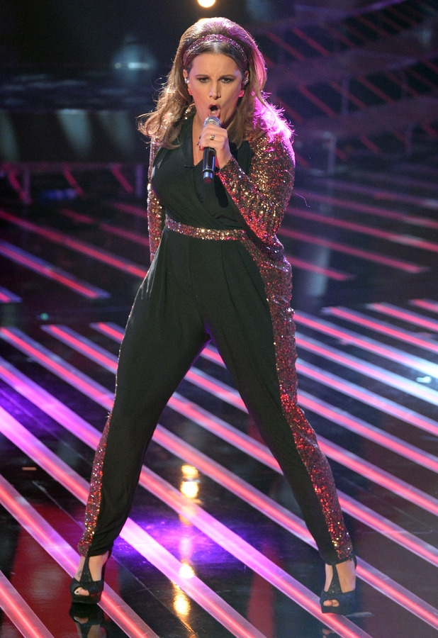 Sam Bailey performs on The X Factor in London - 2 November 2013
